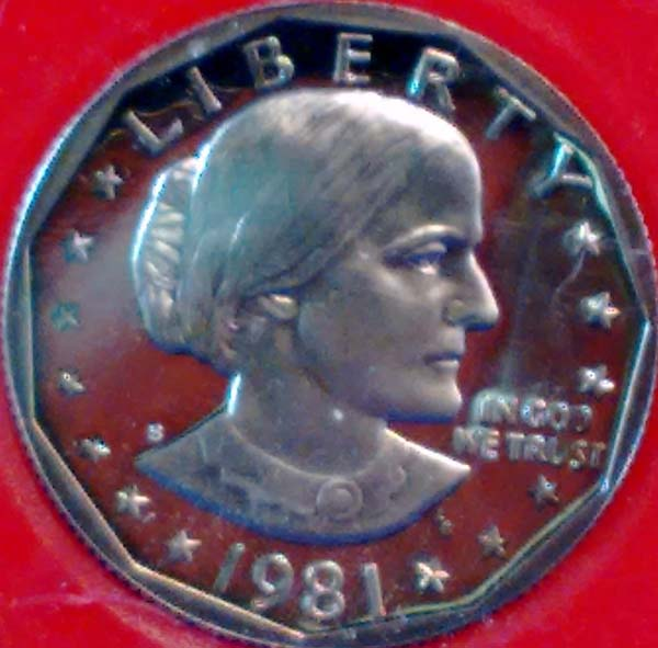 Proof Susan B  Anthony 1979-1999 : Hauser Coins - , On-line
