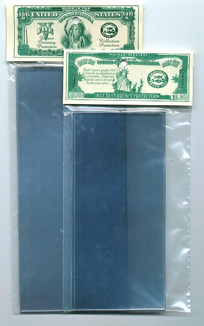 Currency Protector LARGE Size: 5-Pack